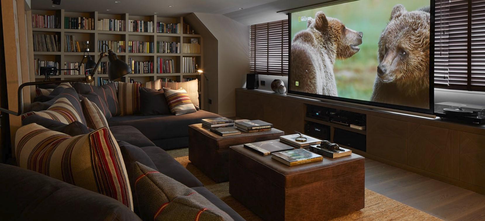 Instalaciones cine en casa pont reyes - Sala de cine en casa ...